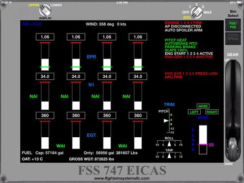 FSS 747EICAS