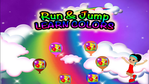 Colors Run Preschool Learning Experience Balloons Game