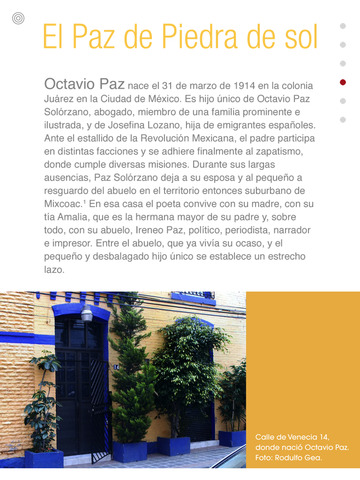 Octavio Paz - Piedra de sol