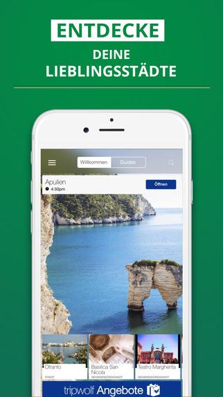 Apulien - dein Reiseführer mit Offline Karte von tripwolf Guide für Sehenswürdigkeiten Touren und Ho