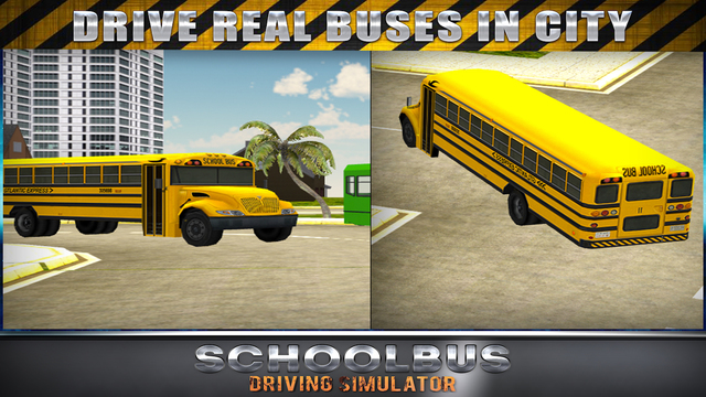 Schoolbus Driving Simulator 3D