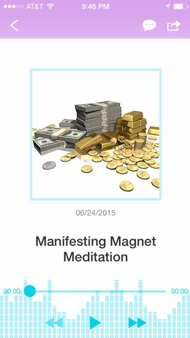 The Ultimate Manifesting Meditation Master Package App-by Jafree Ozwald iPhone Screenshot 3