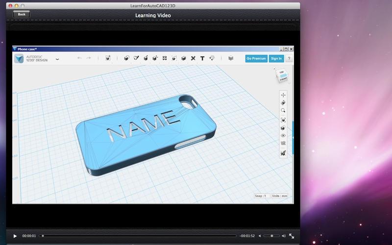 LearnForAutoCAD123D Screenshot - 3