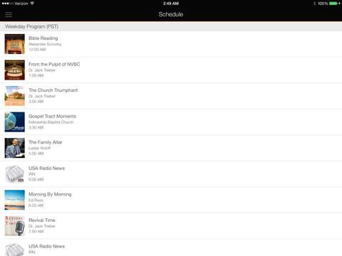 KNVBC Radio for iPad iPad Screenshot 3