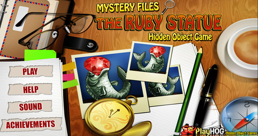 Mystery Files - The Ruby Statue - Free Hidden Object Games