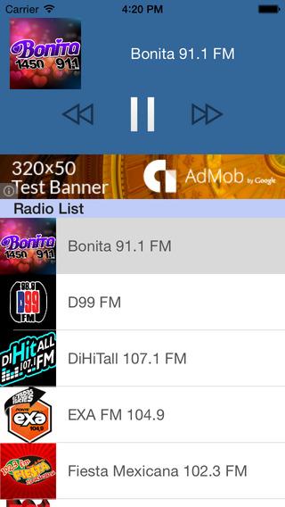Mexico Radio - Escucha todos los radios Mexicanas México