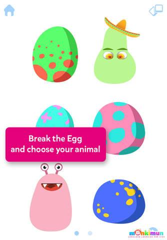 Monki Animal Builder app screenshot