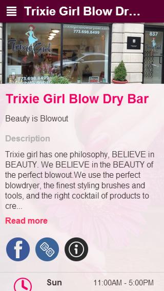 Trixie Girl Blow Dry Bar