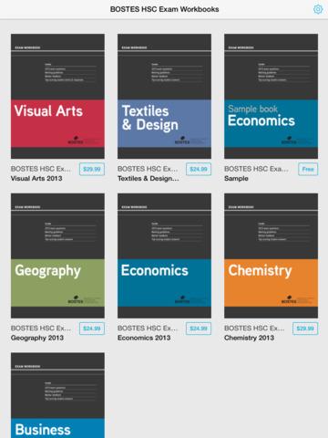 HSC Exam Workbooks