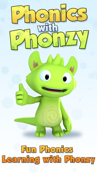 Phonics with Phonzy - practice letter sounds and words aloud