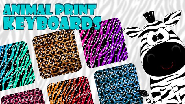 Animal Print Skins Custom Keyboard