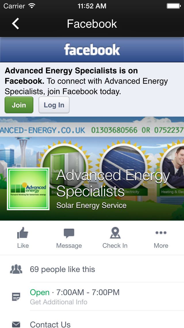 Advanced Energy Specialists