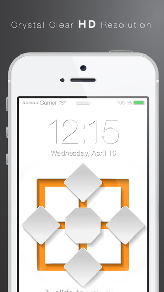 Gowall - 4.7 inch 5.5 inch Lock Screens Wallpapers for iOS 8