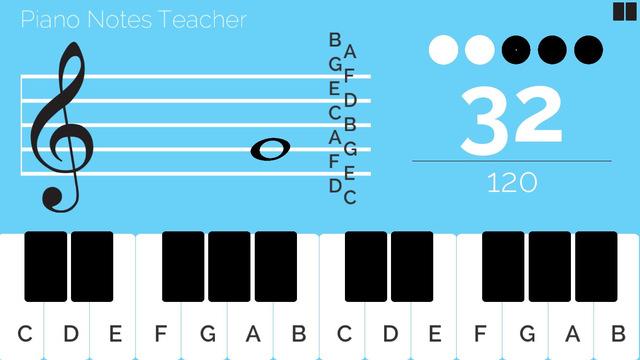 Piano Note Teacher