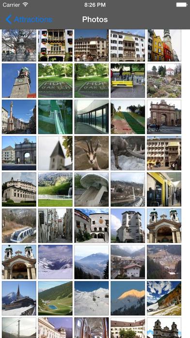 Innsbruck Travel Guide Offline iPhone Screenshot 2