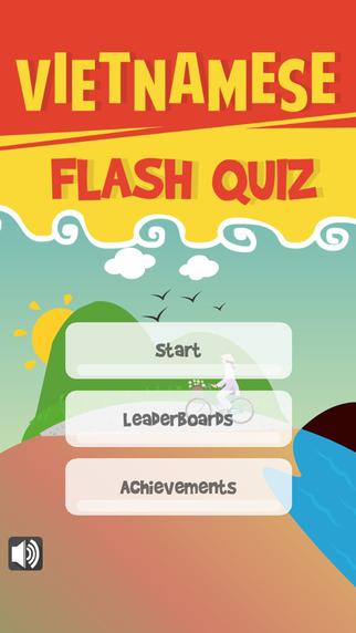 Vietnamese Flash Quiz