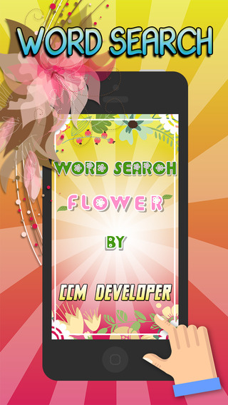 """Word Search Flowers in the Garden """" Super Classic Word Search Puzzle """""""