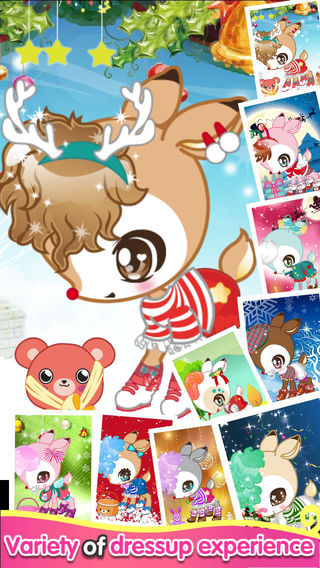 Christmas Deer - Game for girls