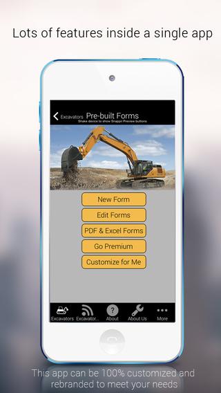 Inspect Excavators Online Offline