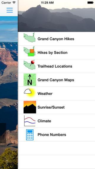 Hiking Grand Canyon National Park