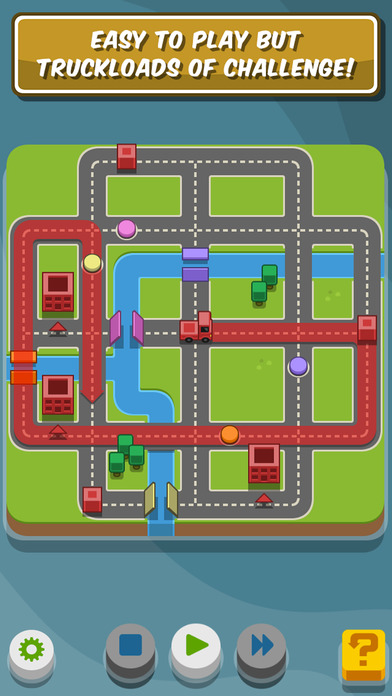 RGB Express - Mini Truck Puzzle Games for iPhone/iPad screenshot