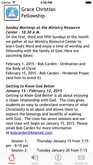 Grace Christian Fellowship Naperville