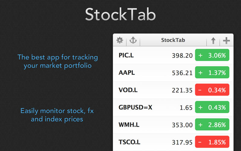 StockTab Screenshot - 1
