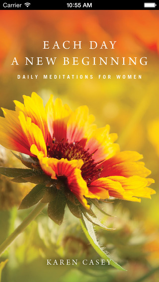 Each Day a New Beginning: Daily Meditations for Women in Recovery