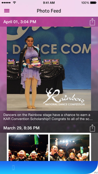Rainbow Dance Competition