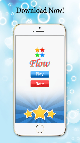 Circle Star - Play with color flow star