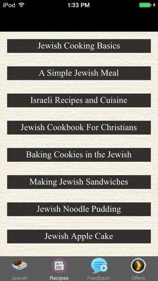 Jewish Recipes - Cooking Basics
