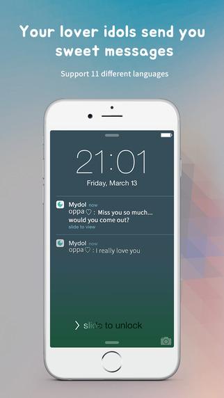 Mydol - imagine chatting