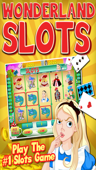 Alice Vegas Slots Casino - Wonderland Jackpot Journey Slot Machine Games Free