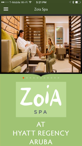 Zoia Spa Aruba