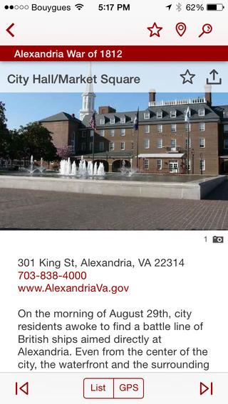 Alexandria War of 1812 Tour