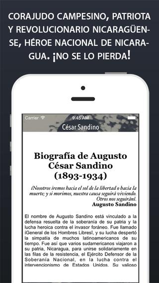 César Sandino : El General de los hombres libres