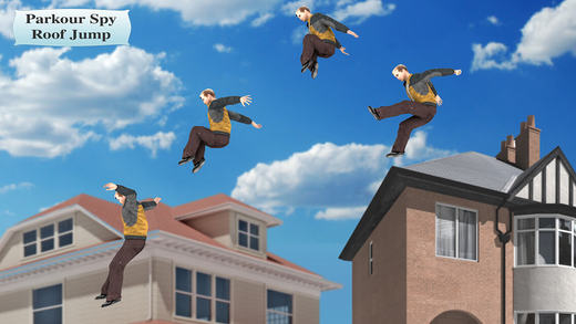 Parkour Spy Roof Jump – tremendous endless running game