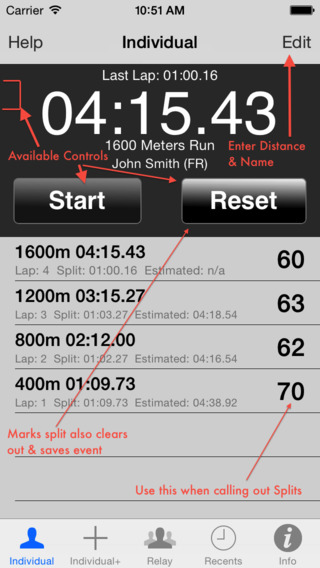 StopWatch for Track Field