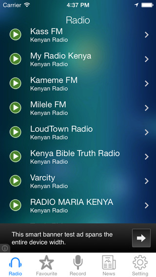 Kenya Radio News Music Recorder