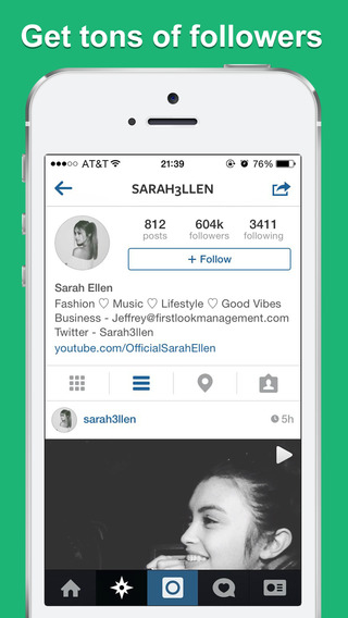 Getfamous - Get Followers for Instagram