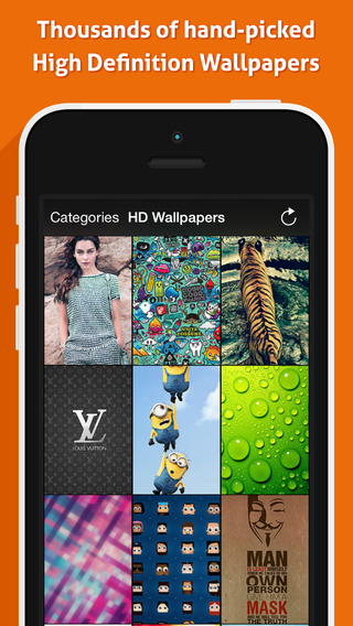 HD Wallpapers - Awesome + Popular + Simple + Best Wallpaper App