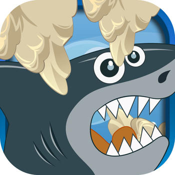 A Dont touch the water spikes – Hungry Shark Swimming Challenge LOGO-APP點子