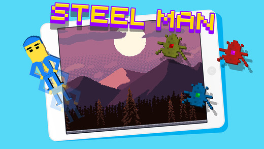Steel Man - Bullet Survive Combat