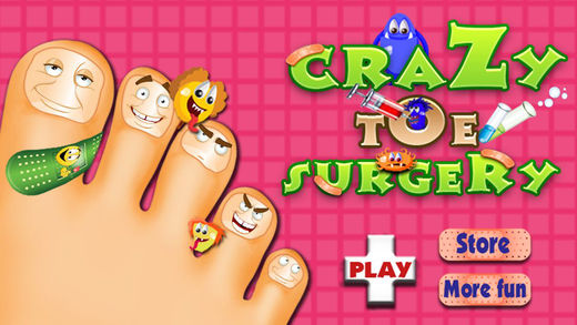 Crazy Toe Surgery- Amateur Surgeon Game for Little Doctor