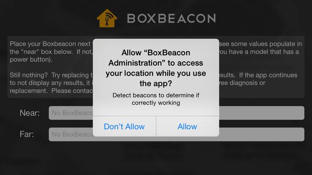 BoxBeacon Administration