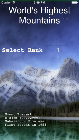 World's Highest Mountains