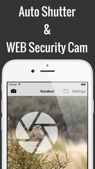 Karakuri Camera - Auto Shutter WEB Monitoring