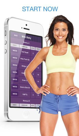 Women Home Fitness – Ежедневные Упражнения Тела Скриншоты3