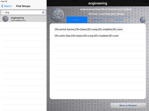 AD HelpDesk iPad Screenshot 3