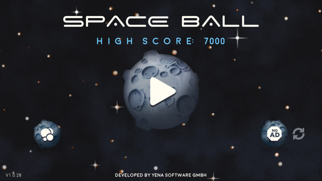 Space Ball: Bounce it up